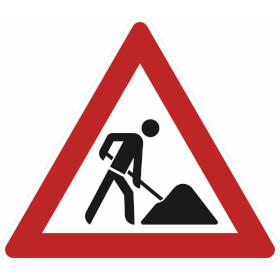 Verkehrszeichen - StVO Baustelle