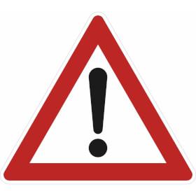 Verkehrszeichen - StVO Gefahrstelle