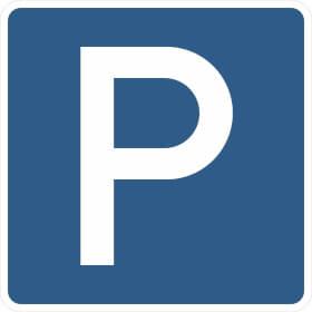 Verkehrszeichen - StVO Parkplatz
