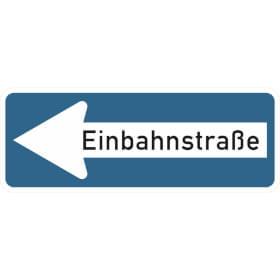 Verkehrszeichen - StVO Einbahnstraße linksweisend