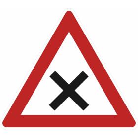 Verkehrszeichen - StVO Kreuzung oder Einmündung mit Vorfahrt von rechts