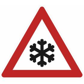 Verkehrsschild nach StVO - Nr. 113 Schnee- oder Eisglätte