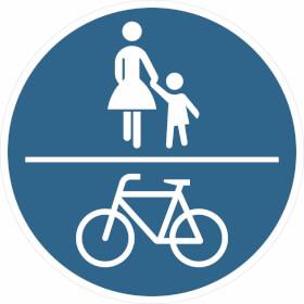 Verkehrszeichen - StVO Gemeinsamer Fuß- und Radweg