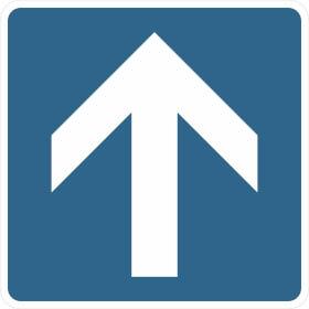 Verkehrszeichen - StVO Einbahnstraße