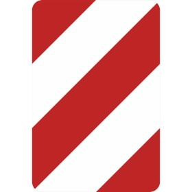 Verkehrszeichen - StVO Leitplatte linksweisend