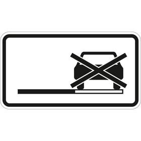 Verkehrszeichen - StVO Haltverbot auch auf dem Seitenstreifen