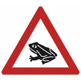 Verkehrszeichen - StVO Amphibienwanderung