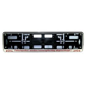 Schilderträger - Parkplatzreservierung für Parkplatzschilder 52,0 x 11,0 cm, Schild bitte separat bestellen!
