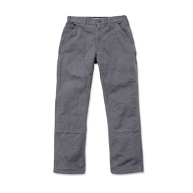 Carhartt Arbeitshose Washed Duck Double - Front Work Dungaree Farbe: grau