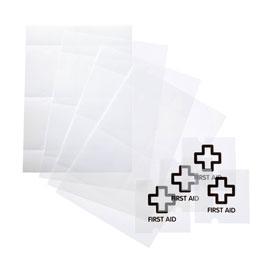 CRYSTAL SIGN Beschriftungseinlagen DURABLE, Nachfüllsatz, für 40 Schilder,