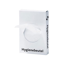 DEISS Hygienebeutel UNIVERSAL 1, 2 l Farbe: weiss, HDPE 12my