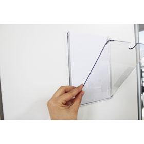 Inforahmen Flap A5 vertikal, ohne Fenster