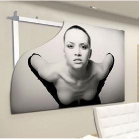 wandhaken zubeh r backframe f r montage der rahmen f r poster. Black Bedroom Furniture Sets. Home Design Ideas