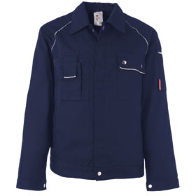 Arbeitsjacken Bundjacken PLANAM Bundjacke Canvas 320, marine,