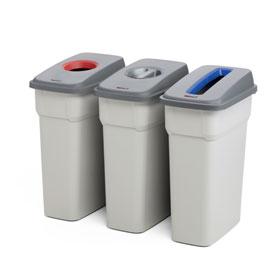 Abfallbehällter zur Abfalltrennung