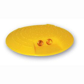 markierungsknopf gelb zum aufkleben. Black Bedroom Furniture Sets. Home Design Ideas