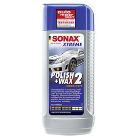 sonax xtreme polish wax 2 hybrid npt politur gegen feine kratzer und matten glanzschleier. Black Bedroom Furniture Sets. Home Design Ideas