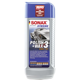 sonax xtreme polish wax 3 hybrid npt politur f r matte verwitterte und ungepflegte lacke. Black Bedroom Furniture Sets. Home Design Ideas