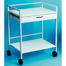 sanit tsraumausstattung s hngen instrumententisch 2 tischplatten wei. Black Bedroom Furniture Sets. Home Design Ideas