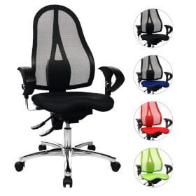 topstar sitness 15 b rostuhl mit h henverstellbarer r ckenlehne. Black Bedroom Furniture Sets. Home Design Ideas