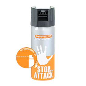 PERFECTA Animal Stop 110 Pfefferspray balistischer Strahl, Inhalt 50 ml
