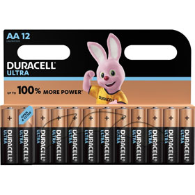 Duracell Ultra Power AA (MX1500 / LR06) Alkaline - Batterie mit Powercheck im Sparpaket