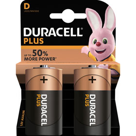 Duracell Plus Power D (MN1300 / LR20) Alkaline - Batterie