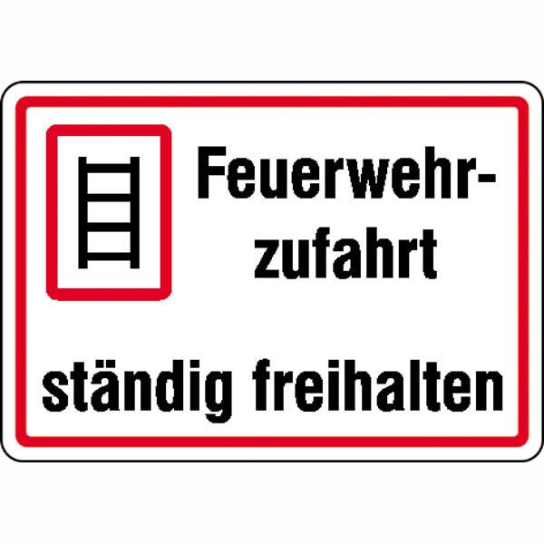 beschilderung feuerwehrzufahrt deutschland verkehrszeichen. Black Bedroom Furniture Sets. Home Design Ideas