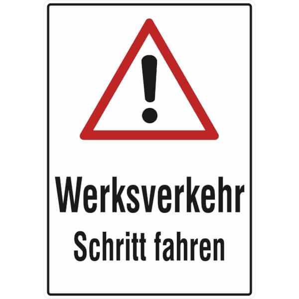 verkehrsschild  betriebskennzeichnung werksverkehr