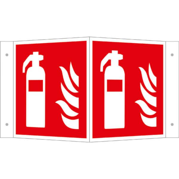 Mittel und Geräte zur Brandbekämpfung Schild  Kunststoff 200 x 200 mm Brandschut