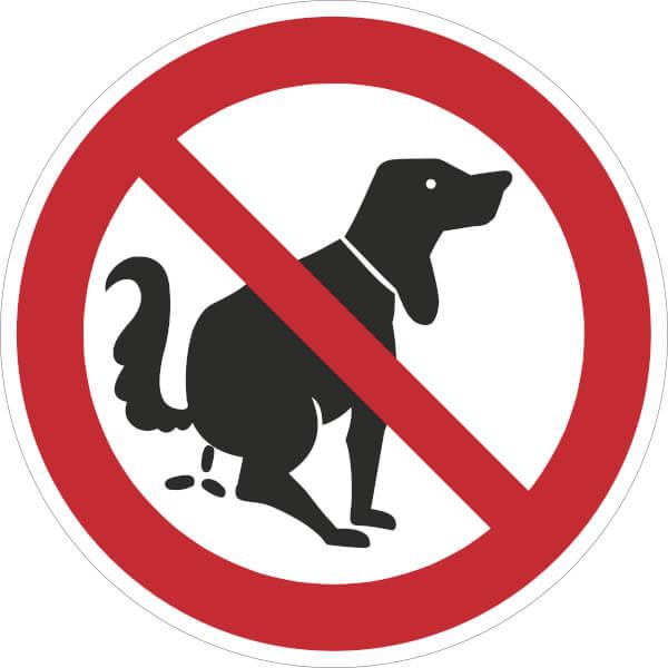 Hundeverbot Schilder