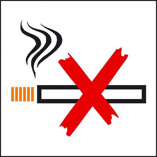 hinweisschild betriebskennzeichnung rauchen verboten. Black Bedroom Furniture Sets. Home Design Ideas