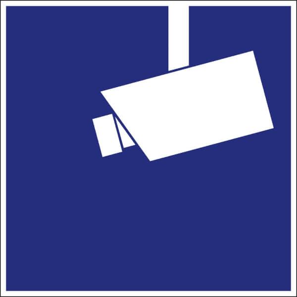 video infozeichen din hinweis video berwachung g nstig bestellen. Black Bedroom Furniture Sets. Home Design Ideas
