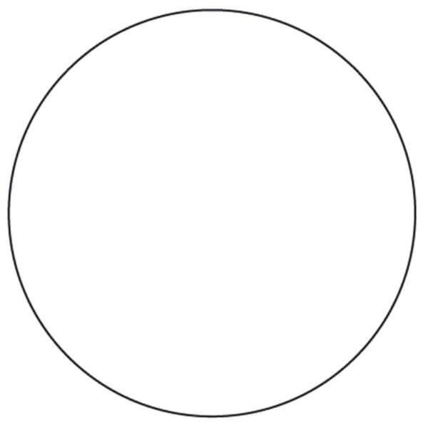 Nummerierte Etiketten auf Rolle Form: rund verschiedene Farben ...