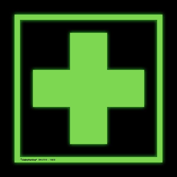 Erste-Hilfe-Schild - langnachleuchtend Erste Hilfe | {Erste hilfe symbol 60}