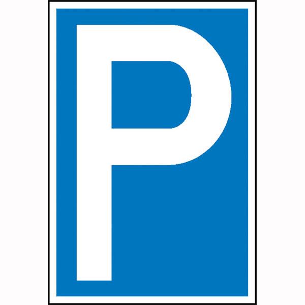 Parkplatzschilder Parkschilder Und Einschlagpfosten