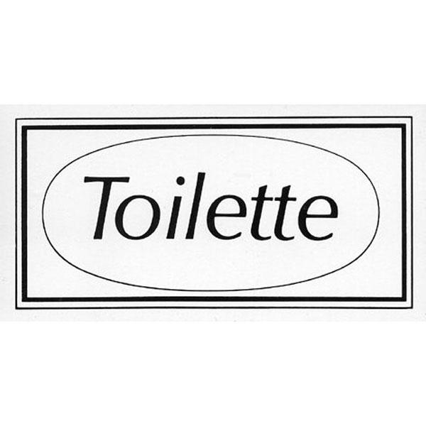 textschilder zur raumkennzeichnung toilette. Black Bedroom Furniture Sets. Home Design Ideas
