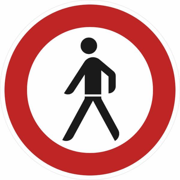verkehrszeichen einfahrt verboten  verkehrszeichen der