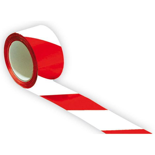 Proline Tape Bodenmarkierungsband Rot Weiss Selbstklebend Auf Rolle