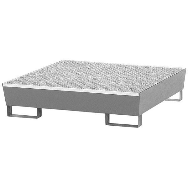asecos stahl auffangwanne verzinkt f r 4 f sser 200 liter. Black Bedroom Furniture Sets. Home Design Ideas