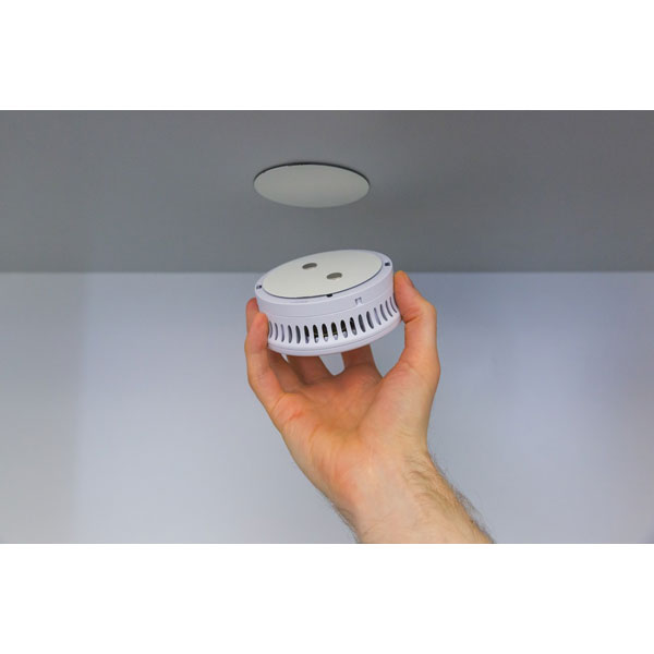 abus klebepad rwm magnetolink 8000 magnetbefestigung zur montage von rauchmeldern ohne bohren. Black Bedroom Furniture Sets. Home Design Ideas