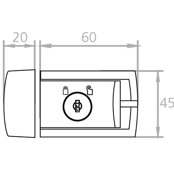 burg w chter winsafe wz 60 t r und fensterriegel komfort. Black Bedroom Furniture Sets. Home Design Ideas