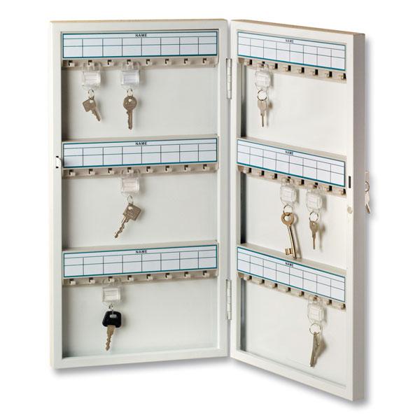 burg w chter schl sselschrank 6750 48 r mit schlie zylinder und 48 schl sselhaken. Black Bedroom Furniture Sets. Home Design Ideas