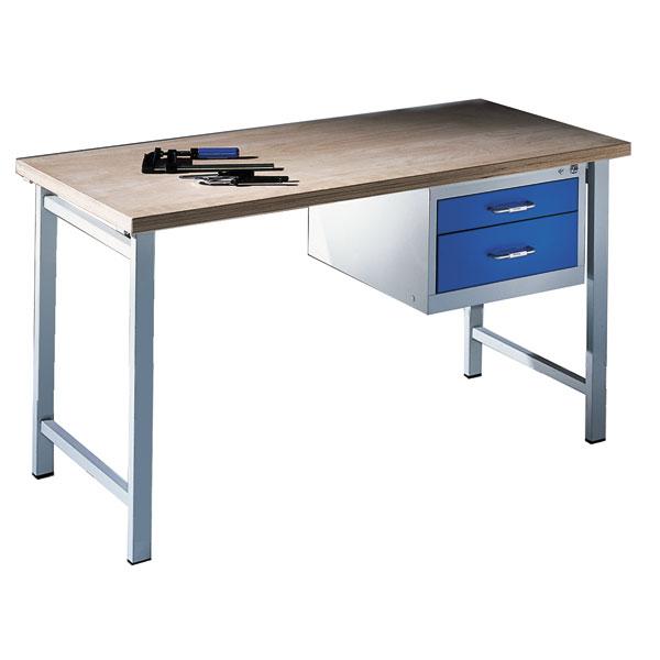 Cp Werkbank Mit 2 Schubladen Niveauregulierung Traglast Max 400 Kg