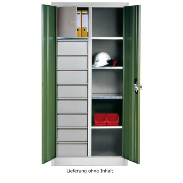 c p werkzeug und materialschrank mit 8 schubladen 4. Black Bedroom Furniture Sets. Home Design Ideas