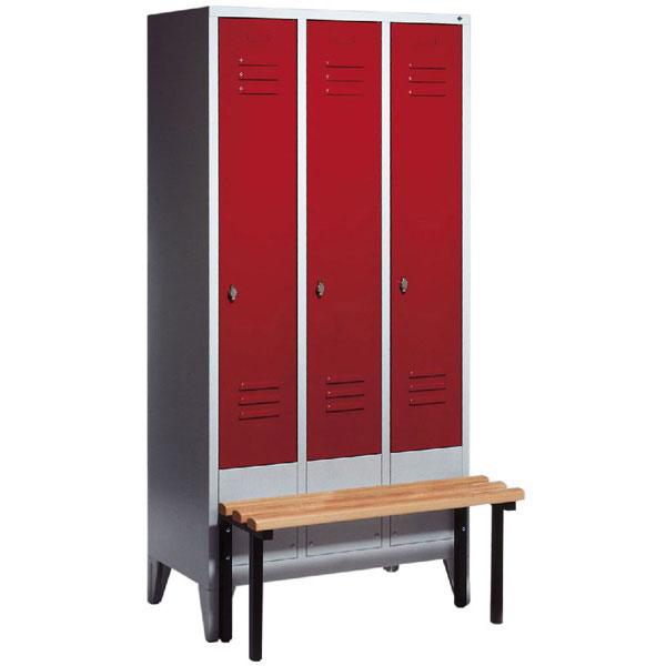 garderobenschr nke stahlschr nke c p garderobenschrank s. Black Bedroom Furniture Sets. Home Design Ideas