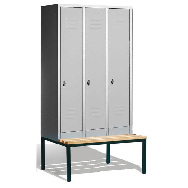 c p garderobenschrank s 2000 classic mit fl gelt ren und. Black Bedroom Furniture Sets. Home Design Ideas