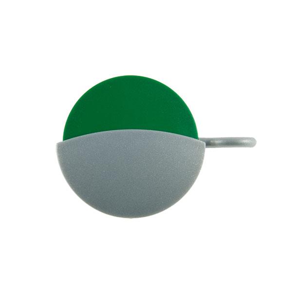 Frei-/Besetzt-Anzeige Farbe: silber rot/grün (drehbar)