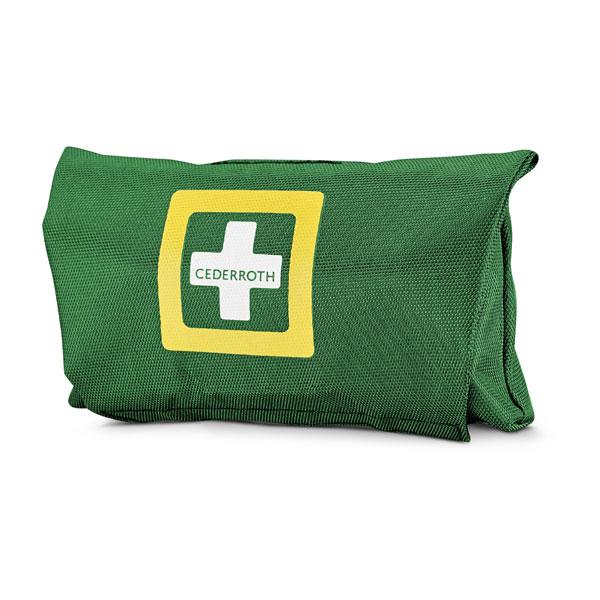 cederroth first aid kit klein erste hilfe tasche ideal f r unterwegs mit g rtelschlaufen. Black Bedroom Furniture Sets. Home Design Ideas