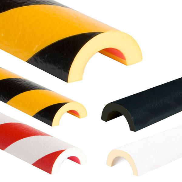 knuffi warn und schutzprofil rohrschutz bogen gelb schwarz. Black Bedroom Furniture Sets. Home Design Ideas